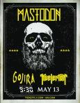 Mastodon at the 9:30 Club on 13 May 2014