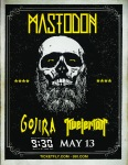 Mastodon at the 9:30 Club on 13 May 2014