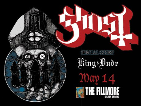Ghost at the Fillmore Silver Spring on 14 May 2014