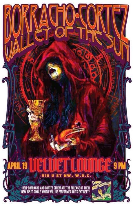 Borracho at the Velvet Lounge on 19 April 2014