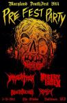 Maryland Deathfest XII Prefest Party at the Ottobar on 21 May 2014