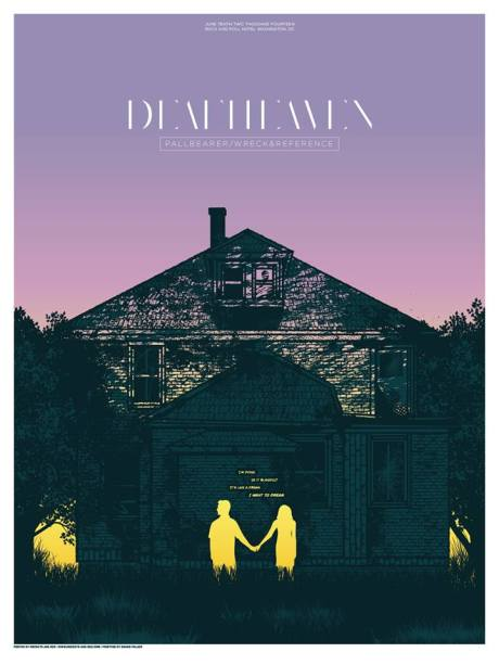 Deafheaven at the Rock & Roll Hotel on 10 June 2014