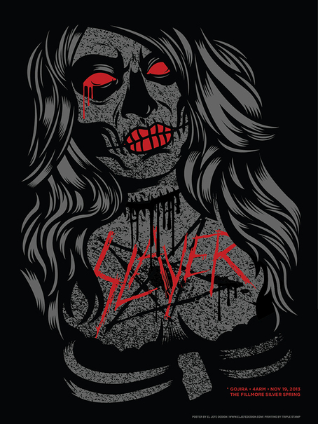 Slayer at the Fillmore Silver Spring on 19 Nov 2013