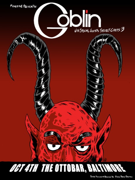 Goblin at the Ottobar on 4 Oct 2013