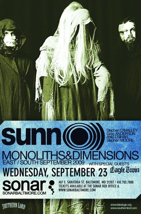 Sunn O))) at Sonar 23 on September 2009