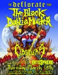 The Black Dahlia Murder at the Rock & Roll Hotel on 18 March 2010