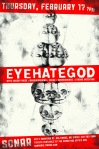 Eyehategod at Sonar on 17 February 2011