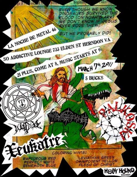 La Noche De Metal 46 at So Addictive on 7 March 2011