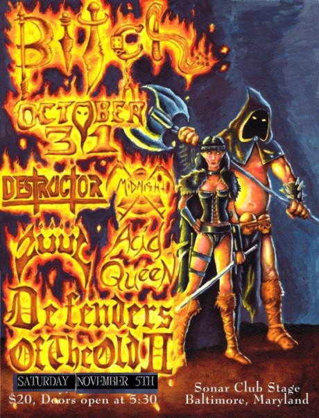 Defenders Of The Old II at Sonar on 5 November 2011