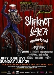 Mayhem Festival at JIffy Lube Live on 29 July 2012