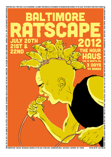 Ratscape at the Hour Haus on 20 - 22 July 2012