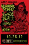 Municipal Waste at Empire on 26 October 2012