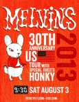 The Melvins at the 9:30 Club on 3 August 2013