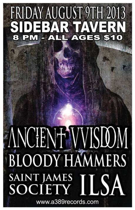 Ancient VVisdom at the Sidebar on 9 August 2013