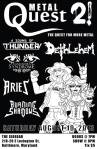 Metal Quest 2 at theSidebar