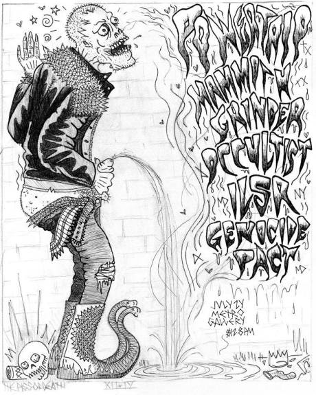 Power Trip at Metro Gallery on 24 July 2014